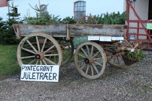 Juletræ gran gårdsalg