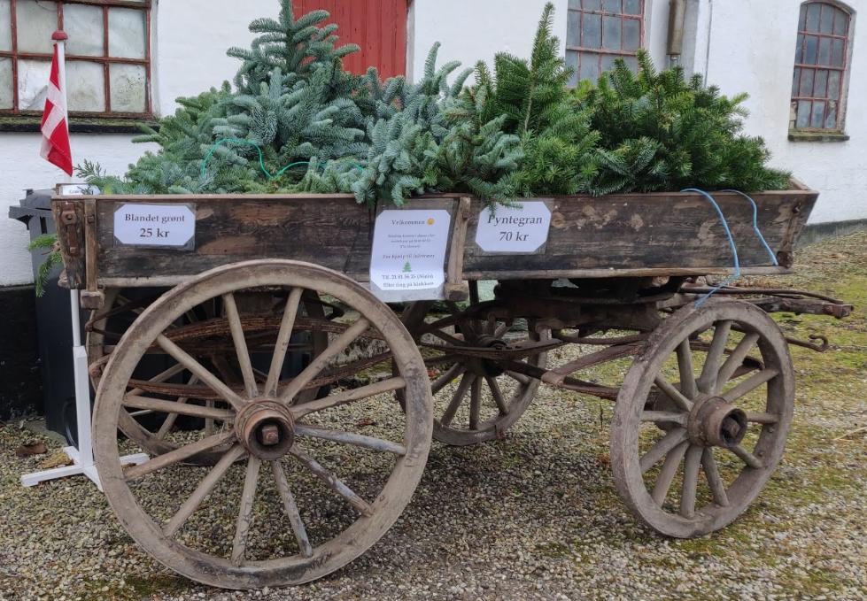 vognen med grønt